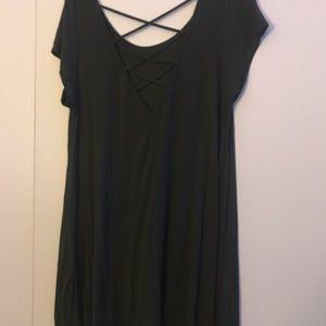 Marshalls Dresses - Flowy green dress